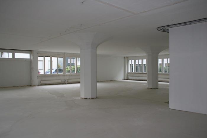 Neue Räume d-on-d im Rohbau