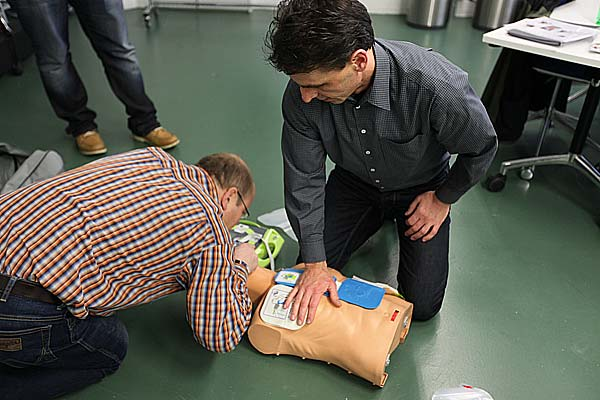 Defibrillator-Training